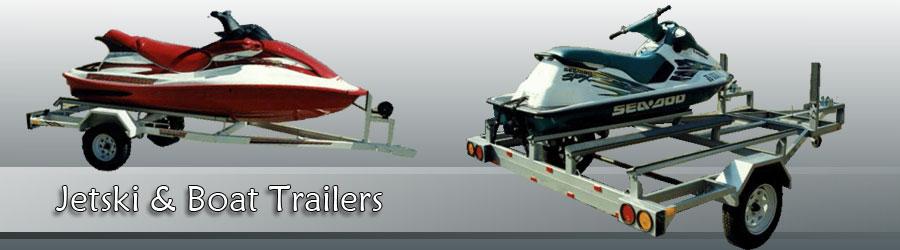 Jet ski & boat
